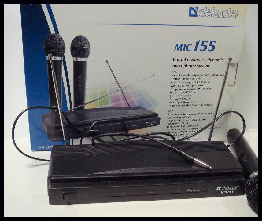 Драйвера для микрофона defender mic 155 скачать
