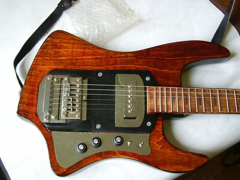 Эл гитару сделать